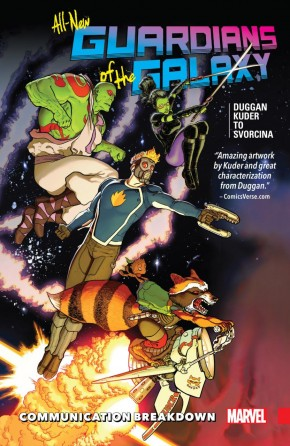 ALL NEW GUARDIANS OF THE GALAXY VOLUME 1 COMMUNICATION BREAKDOWN GRAPHIC NOVEL