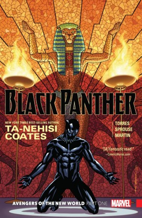 BLACK PANTHER BOOK 4 AVENGERS OF THE NEW WORLD GRAPHIC NOVEL