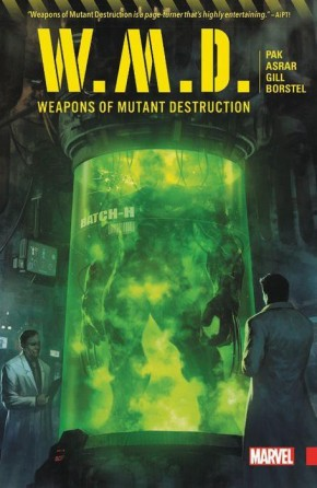 WEAPONS OF MUTANT DESTRUCTION GRAPHIC NOVEL