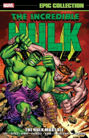 INCREDIBLE HULK EPIC COLLECTION HULK MUST DIE GRAPHIC NOVEL