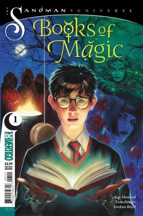 BOOKS OF MAGIC #1 (2018 SERIES) VARIANT