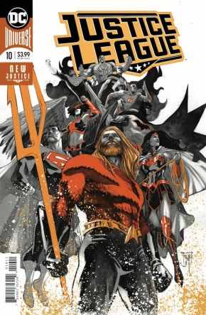 JUSTICE LEAGUE #10 (2018 SERIES) FOIL