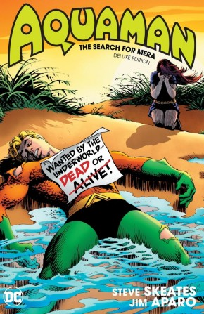 AQUAMAN THE SEARCH FOR MERA DELUXE EDITION HARDCOVER