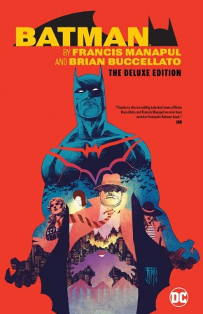BATMAN BY MANAPUL AND BUCCELLATO DELUXE EDITION HARDCOVER