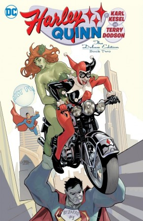 HARLEY QUINN BY KESEL AND DODSON DELUXE EDITION VOLUME 2 HARDCOVER