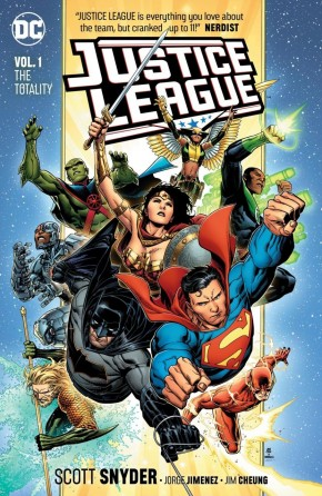 JUSTICE LEAGUE VOLUME 1 THE TOTALITY GRAPHIC NOVEL