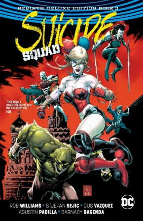 SUICIDE SQUAD REBIRTH DELUXE COLLECTION BOOK 3 HARDCOVER