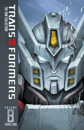 TRANSFORMERS IDW COLLECTION PHASE TWO VOLUME 8 HARDCOVER