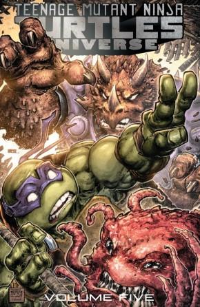 TEENAGE MUTANT NINJA TURTLES UNIVERSE VOLUME 5 COMING DOOM GRAPHIC NOVEL