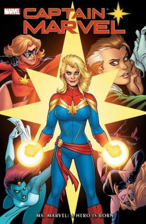CAPTAIN MARVEL MS MARVEL A HERO IS BORN OMNIBUS HARDCOVER