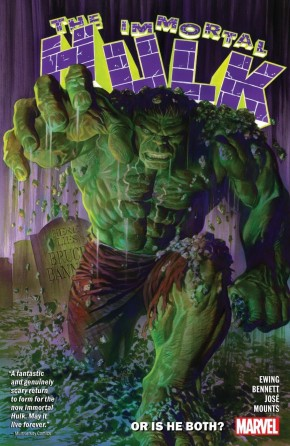 IMMORTAL HULK VOLUME 1 OR IS HE BOTH GRAPHIC NOVEL