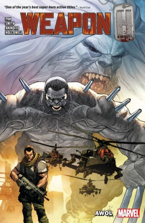 WEAPON H VOLUME 1 AWOL GRAPHIC NOVEL
