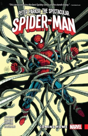 PETER PARKER THE SPECTACULAR SPIDER-MAN VOLUME 4 COMING HOME GRAPHIC NOVEL