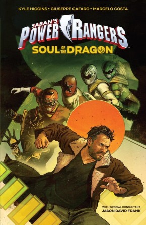 SABAN MIGHTY MORPHIN POWER RANGERS SOUL DRAGON ORIGINAL GRAPHIC NOVEL