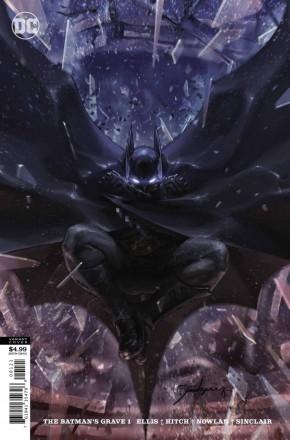 BATMANS GRAVE #1 CARD STOCK VARIANT