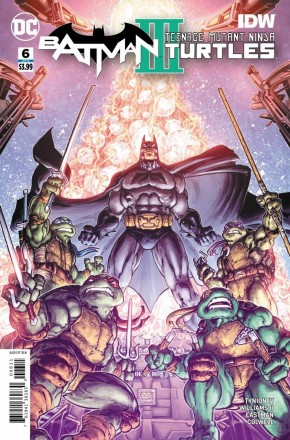 BATMAN TEENAGE MUTANT NINJA TURTLES III #6