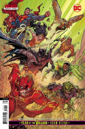 JUSTICE LEAGUE #33 (2018 SERIES) CARD STOCK VARIANT