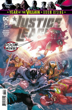 JUSTICE LEAGUE #34 (2018 SERIES)