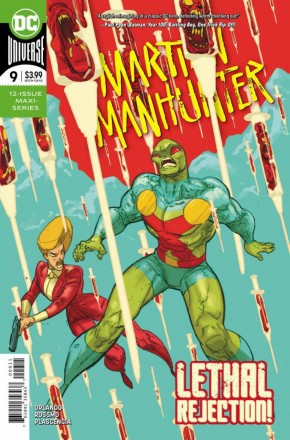 MARTIAN MANHUNTER #9