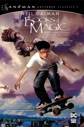 BOOKS OF MAGIC 30TH ANNIVERSARY DELUXE EDITION HARDCOVER