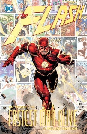 FLASH 80 YEARS OF THE FASTEST MAN ALIVE HARDCOVER