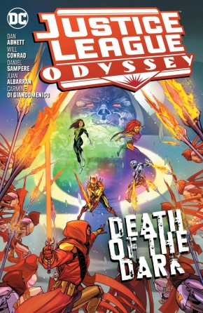 JUSTICE LEAGUE ODYSSEY VOLUME 2 DEATH OF THE DARK GRAPHIC NOVEL
