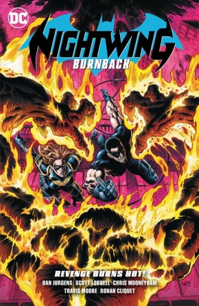 NIGHTWING BURNBACK GRAPHIC NOVEL