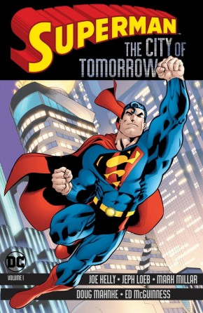 SUPERMAN THE CITY OF TOMORROW VOLUME 1 GRAPHIC NOVEL