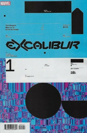 EXCALIBUR #1 (2019 SERIES) MULLER DESIGN 1 IN 10 INCENTIVE VARIANT