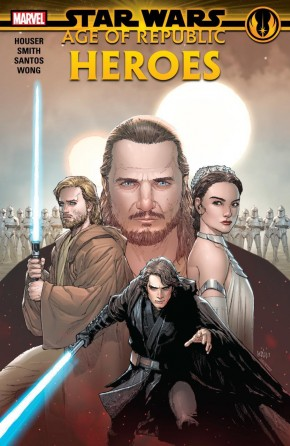 STAR WARS AGE OF REPUBLIC HEROES HARDCOVER