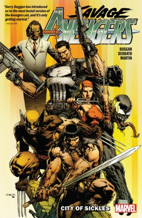 SAVAGE AVENGERS VOLUME 1 CITY OF SICKLES GRAPHIC NOVEL