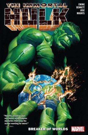 IMMORTAL HULK VOLUME 5 BREAKER OF WORLDS GRAPHIC NOVEL