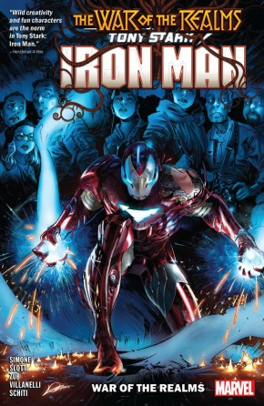 TONY STARK IRON MAN VOLUME 3 WAR OF THE REALMS GRAPHIC NOVEL