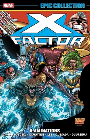 X-FACTOR EPIC COLLECTION X-AMINATIONS GRAPHIC NOVEL