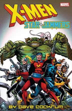 X-MEN STARJAMMERS BY DAVE COCKRUM GRAPHIC NOVEL