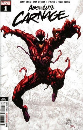 ABSOLUTE CARNAGE #1 5TH PRINTING