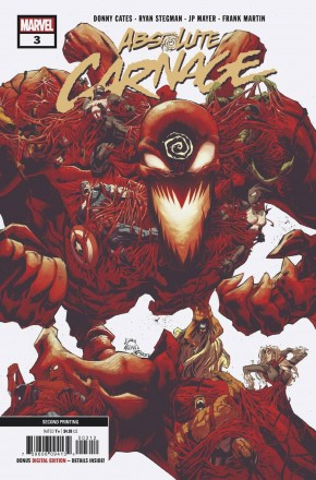 ABSOLUTE CARNAGE #3 (2ND PRINTING)