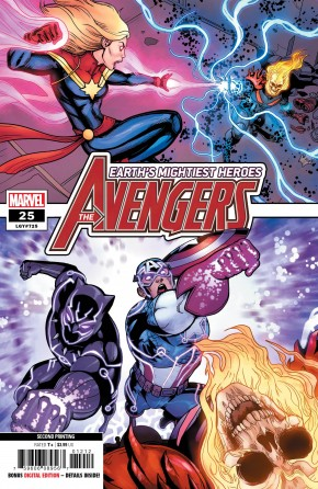 AVENGERS #24 (2018 SERIES) 2ND PRINTING