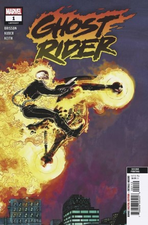 GHOST RIDER #1 (2019 SERIES) 2ND PRINTING