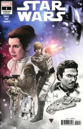 STAR WARS #1 (2020 SERIES) SILVA PREMIERE VARIANT