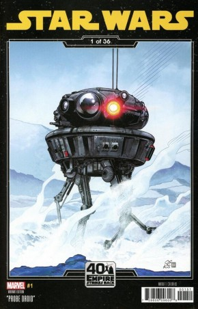 STAR WARS #1 (2020 SERIES) SPROUSE EMPIRE STRIKES BACK VARIANT