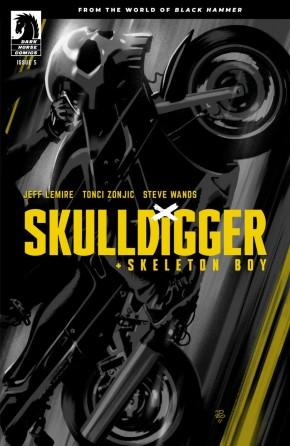 SKULLDIGGER AND SKELETON BOY #5