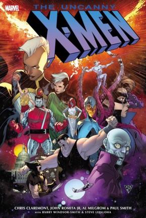 UNCANNY X-MEN OMNIBUS VOLUME 4 HARDCOVER