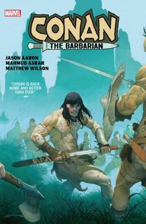 CONAN THE BARBARIAN BY JASON AARON AND MAHMUD ASRAR HARDCOVER