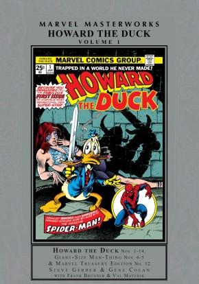 MARVEL MASTERWORKS HOWARD THE DUCK VOLUME 1 HARDCOVER