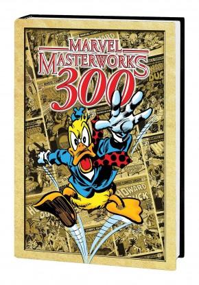 MARVEL MASTERWORKS HOWARD THE DUCK VOLUME 1 DM EXCLUSIVE #300 EDITION HARDCOVER