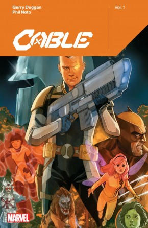 CABLE BY GERRY DUGGAN VOLUME 1 GRAPHIC NOVEL