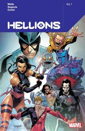 HELLIONS BY ZEB WELLS VOLUME 1 GRAPHIC NOVEL
