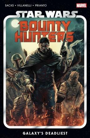 STAR WARS BOUNTY HUNTERS VOLUME 1 GALAXYS DEADLIEST GRAPHIC NOVEL