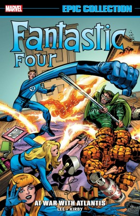 FANTASTIC FOUR EPIC COLLECTION AT WAR WITH ATLANTIS GRAPHIC NOVEL